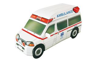 ペーパークラフト 救急車