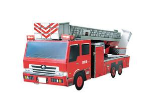 ペーパークラフト 消防車