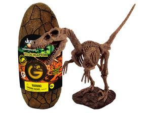 ジュラシックエッグ恐竜組立キット ベロキラプトル