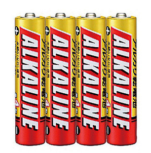 三菱電機アルカリ単四乾電池4本組