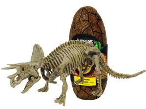 ジュラシックエッグ恐竜組立キット トリケラトプス