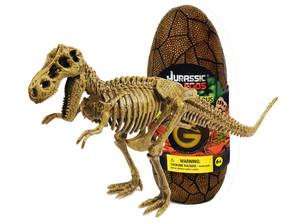 ジュラシックエッグ恐竜組立キット ティラノサウルス