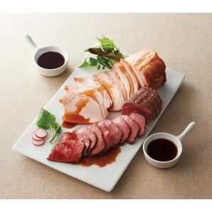 ハング「ローストビーフと焼豚」