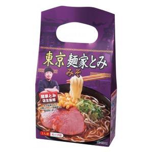 探しあてた銘店 東京麺家とみ みそラーメン1食