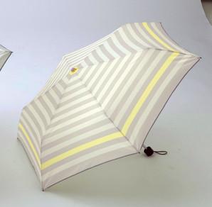 カラフルボーダー/耐風折りたたみ傘