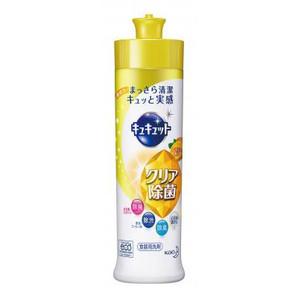 キュキュット クリア除菌レモン240ml