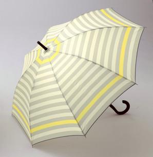 カラフルボーダー/耐風ジャンプ傘