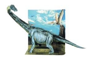ペーパークラフト ブラキオサウルス